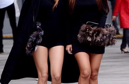 Bí quyết mặc đẹp với túi lông thú đẹp hoàn hảo