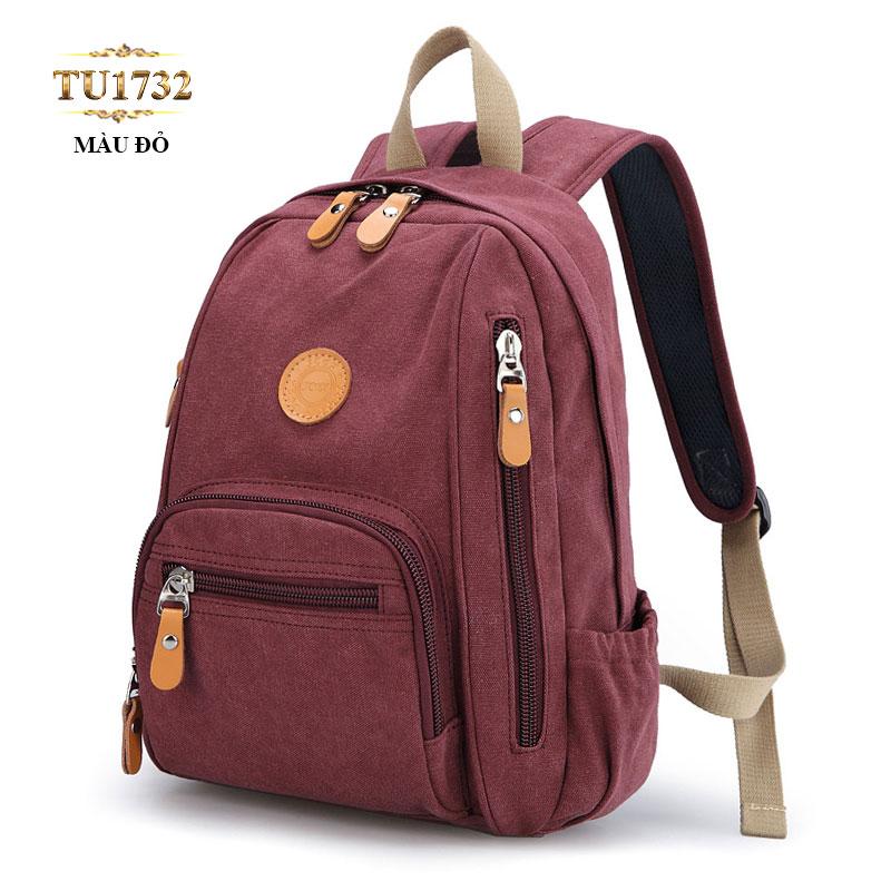 Balo đeo màu đỏ thời trang TU1732