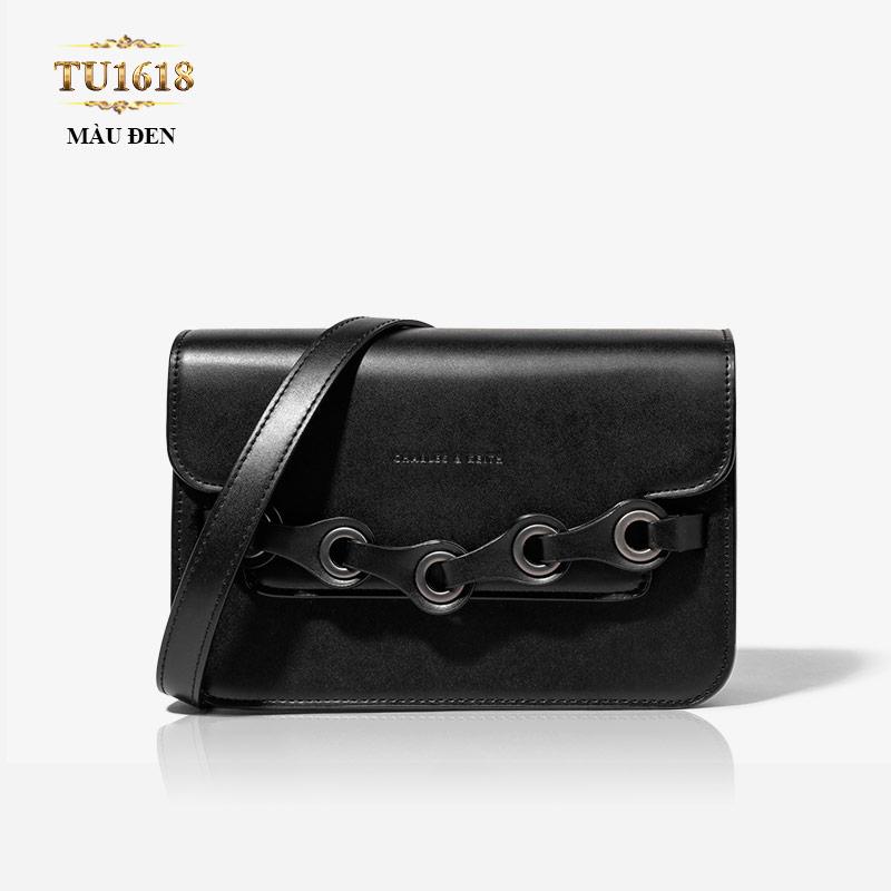 Túi xách CHARLES&KEITH màu đen cao cấp TU1618
