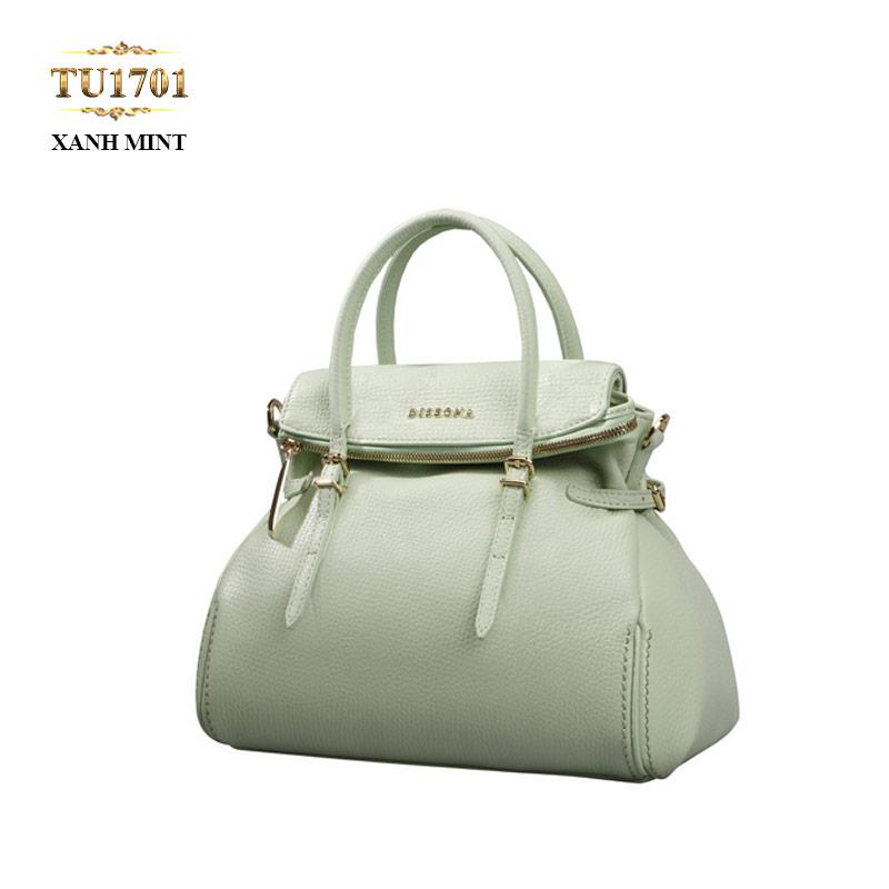 Túi xách đeo Dissona mini xanh mint cao cấp TU1701
