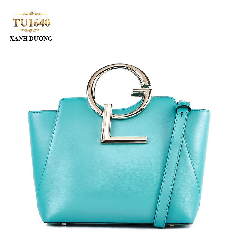 Túi xách đeo GL dáng hộp chữ nhật cao cấp TU1640 (Xanh dương)
