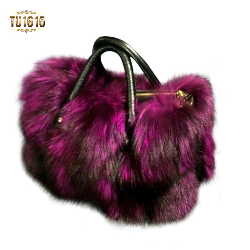 Túi xách lông cao cấp nhập khẩu TU1615